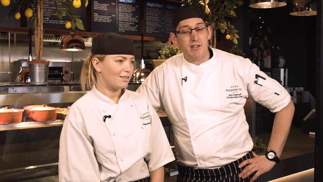 Charlotte and Daniel – Chefs